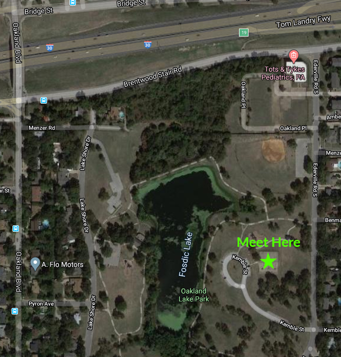 Oakland Lake Park Meetup Location