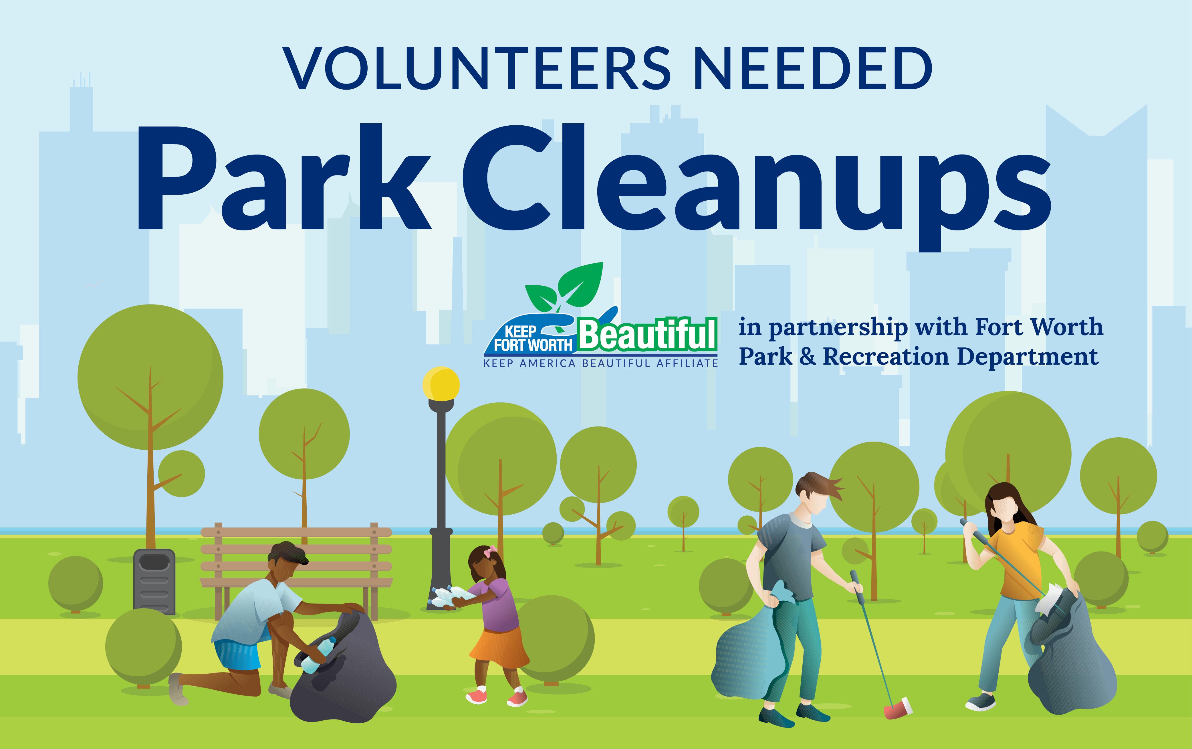 Summer Park Cleanup