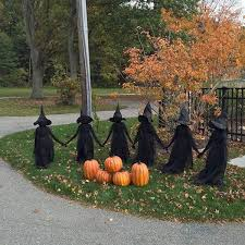 30 Awesome Outdoor Halloween Decorations Ideas - house8055.com