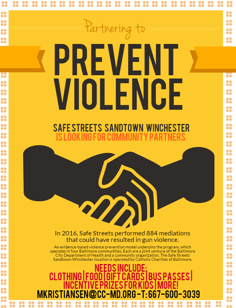 partner with safe streets
