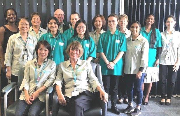Waitemata DHB volunteer team