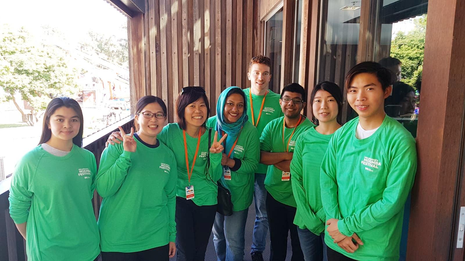 Moomba volunteers