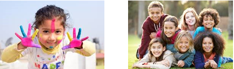 Combined kids photos
