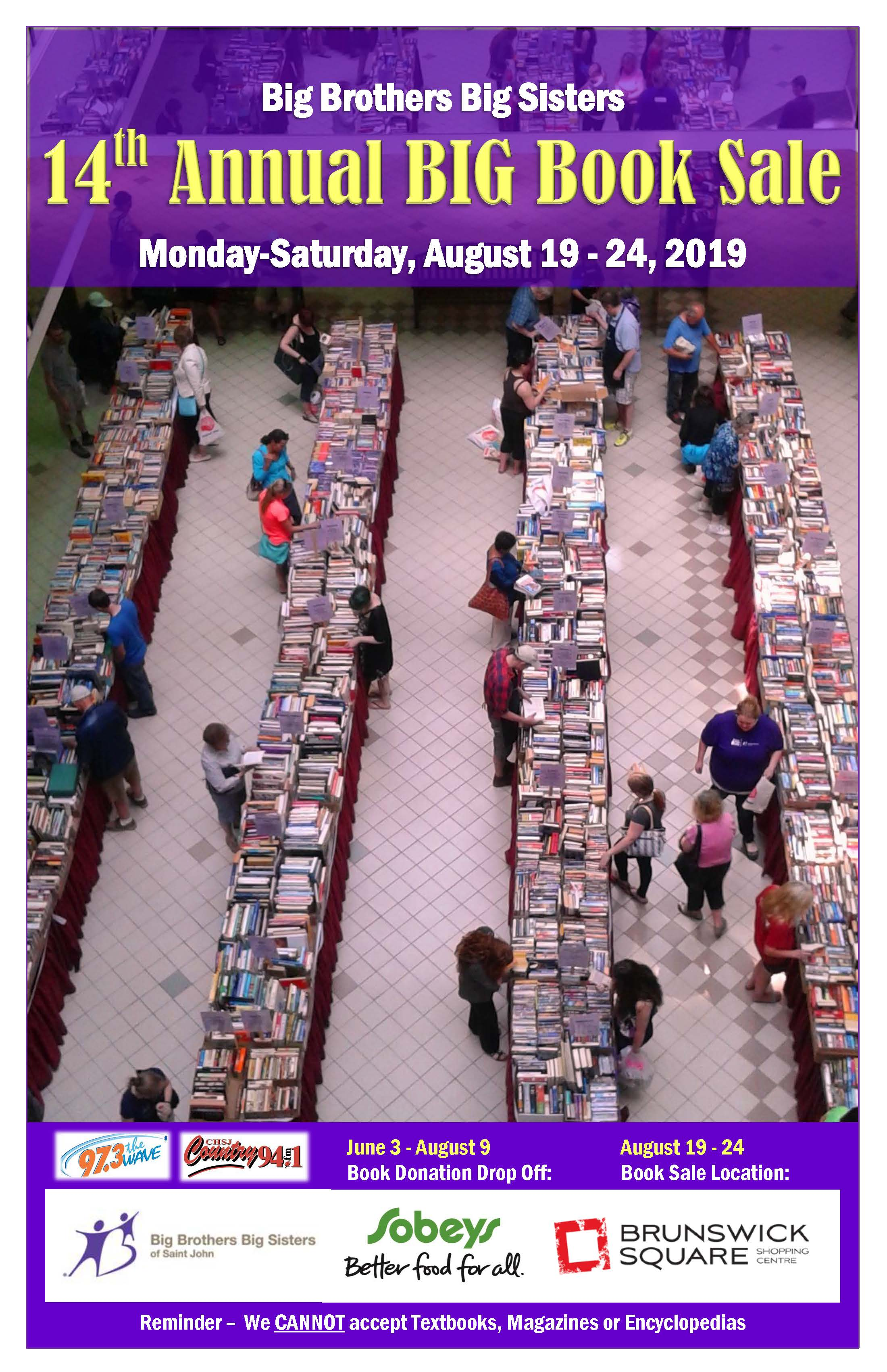 BIG Book Sale Poster