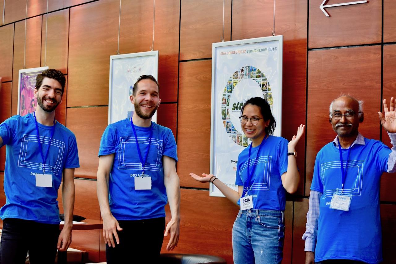 DOXA volunteers 2019
